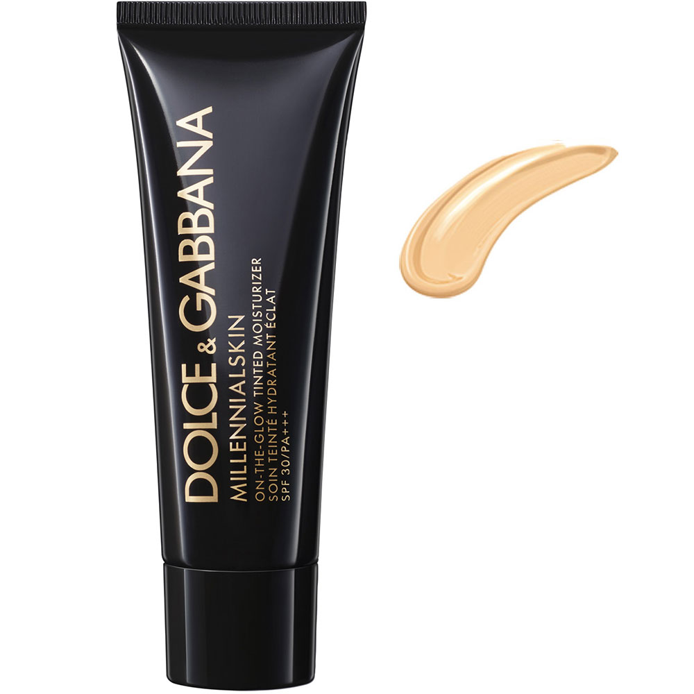 Dolce & Gabbana Millenialskin On The Glow Tinted Moisturizer SPF30 n. light 1 porcelain