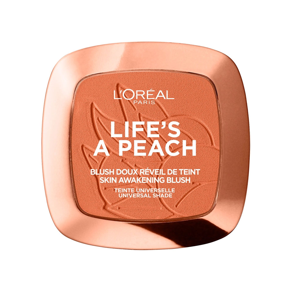 L Oreal Life s A Peach Blush Powder