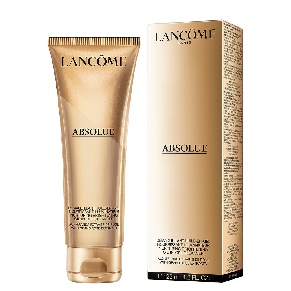 Lancome Absolue Demaquillant Huile En Gel Nourissant Illuminatuer 125 ml