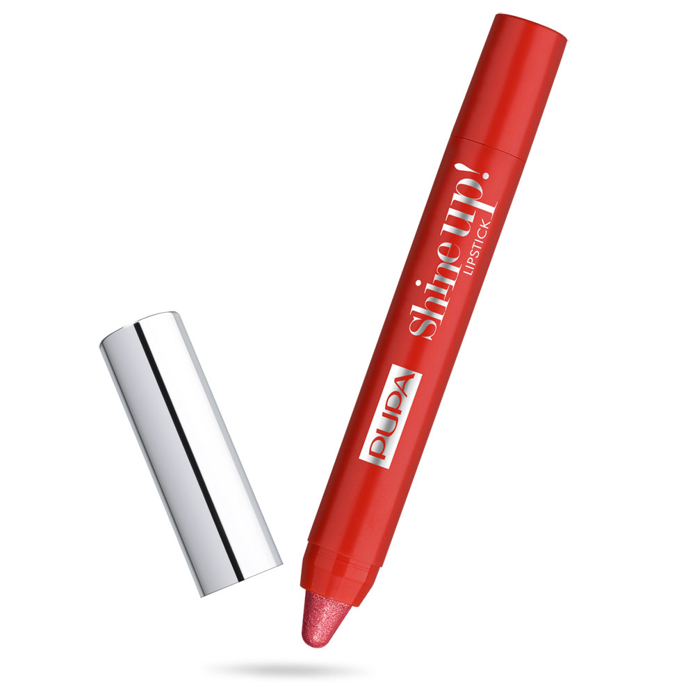 Pupa Shine Up! Rossetto n. 008 fall in red
